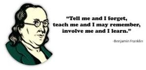Ben Franklin on learning